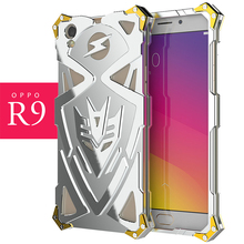Zimon Armor Heavy Dust Metal Aluminum protect phone shell case for oppo r9 r9s r9plus r9splus plus cell phone cover
