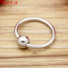 Buy Stainless steel glans ring,cock ring delay fun male sperm locking ring,male chastity device,penis ring,penis sleeve,cockring