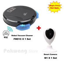 PAKWANG Wet and Dry Planned Mobile App Robot Vacuum Cleaner for Home Automatic Sweeping Remote Control  Vacuum And Smart Monitor