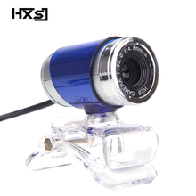 HXSJ Webcam HD PC Camera with Absorption Microphone MIC for Skype for Android TV Rotatable Computer Camera Web cam for(China)