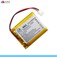 In the core 550mAh 403540 with protection board 3.7V polymer lithium ion battery 453540423540 Li-ion Cell
