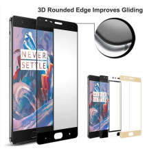 OnePlus 3T Tempered Glass Screen Protector for Oneplus 3 / One Plus 3 / OnePlus Three 9H Nano Coating Protective Film Case