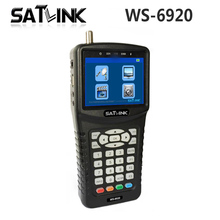 [Genuine] Satlink WS-6920 DVB-S/S2 Digital Satellite Finder Meter with MPEG-2/MPEG-4 H.264 3.5inch HD TFT LCD Screen