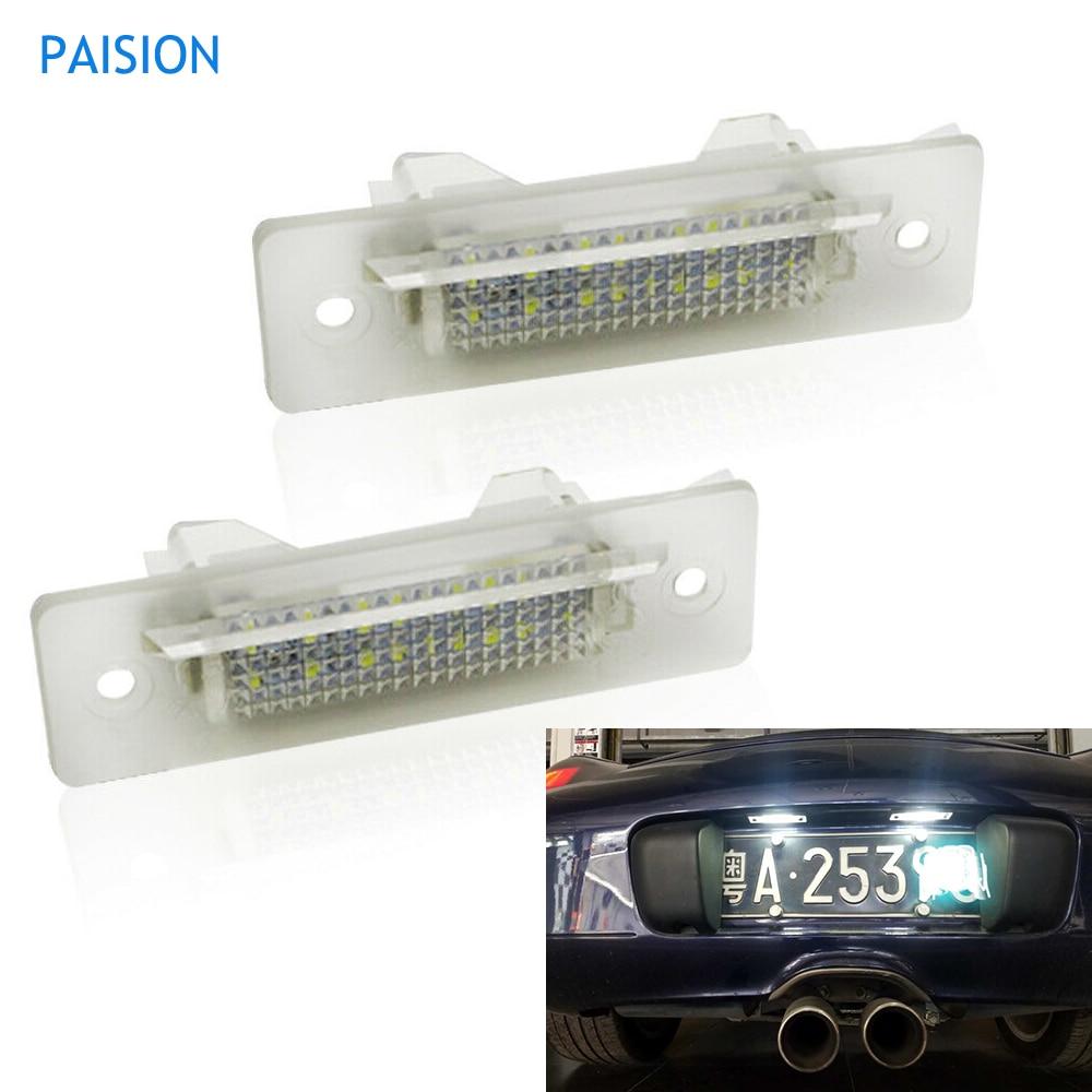1x Porsche Boxster 986 Bright Xenon White LED Number Plate Upgrade Light Bulb