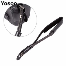 PU Leather Camera Hand Wrist Strap For Sony for Nikon for Panasonic SLR Camera Wrist Lanyard