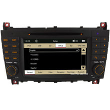 "7"" Touch Capacitive Screen Car Multimedia DVD Player Radio Stereo GPS Support 3G For Benz C Class W203 C200 C230 C320 CLK 200"