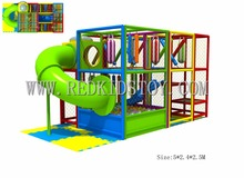 Exported to Chile CE certificated Safe Indoor Playground Set Plaza De Juegos 151111a