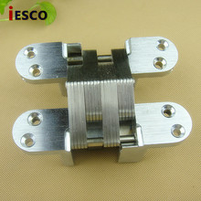 Cross hinge concealed door hinge screen concealed hinge cabinet dark hinge 138mm heavy four hole