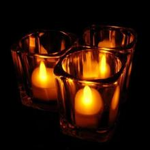 6pc LED Tea Light Candles Realistic Battery-Powered Flameless Candles Wonderful35%
