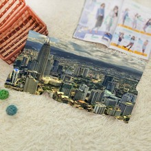 Kuala Lumpur From The Air  Vintage Wearable Quk Dry Cotton Material Rectangle Shape Bath Towel 1 Face Towel