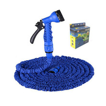 125Ft 150Ft Hose Watering Garden Hose Car Wash Stretched Magic Expandable Garden Supplies Water Hoses Pipe with Spray Gun Qualit(China)