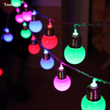 Tanbaby 5M 20 LED 4.5CM Globe Ball Festoon Holiday Fairy String Lights Waterproof Outdoor Garlands Christmas Wedding Decoration(China)