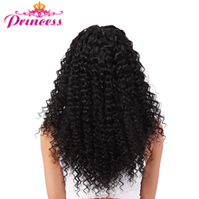 Beautiful Princess Malaysian Afro Kinky Curly Hair Double Weft Hair Weave Human Hair Bundles Natural Color Non-Remy Hair