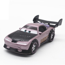 Cars 3 Boost Drag racing car Diecast Metal Alloy Model Brio Cute Collection Toys For Children Kids Gifts(China)