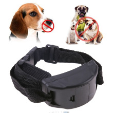 Pet Dog Training Collar Anti Bark Leather Collar Vibration Shock Electronic Pet Trainer Control for Small Medium Large Dog