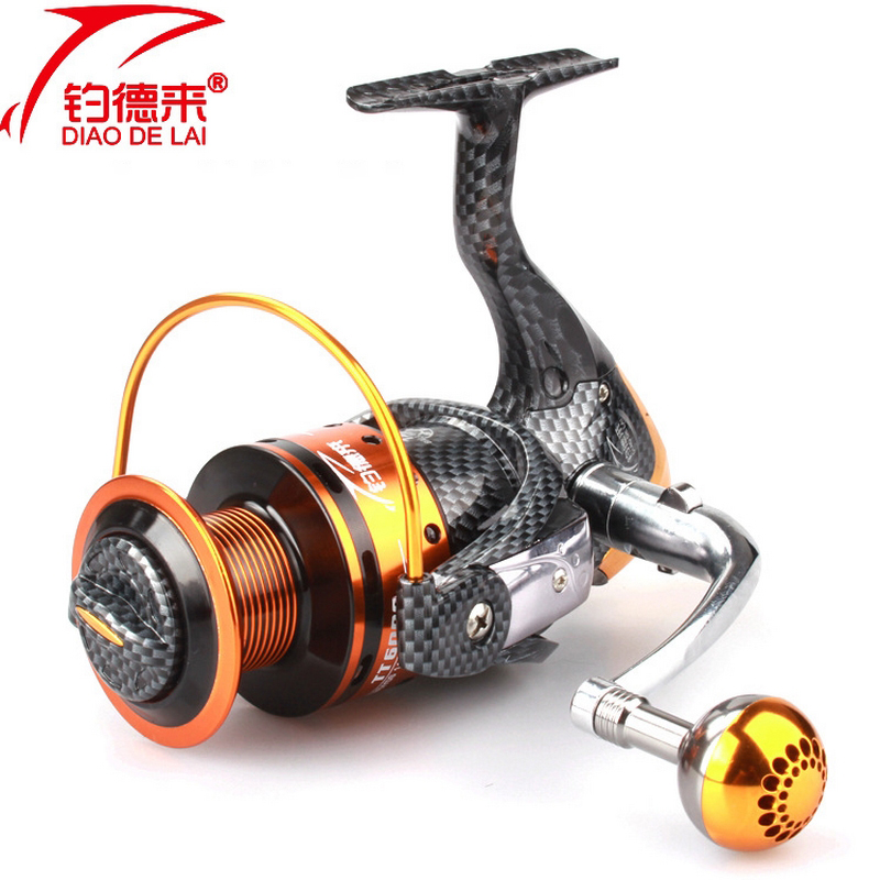 Full Metal Fishing Reel Bait Fishing Reel 12+1 BB Spinning Fishing Reel LeftRight Hand 1000-6000 Series Fishing Accessories (6)