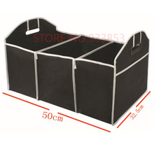 Foldable Car Trunk Organizer for Toys Food Storage Truck Cargo Container Car Stowing Tidying Box Auto(China)