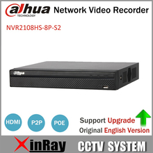 Buy Dahua NVR2108HS-8P-S2 8CH POE NVR Full HD 6MB 1080P Recorder Network Video Recorder HDD Selectable for $180.00 in AliExpress store