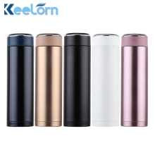 Keelorn Double Wall Stainless Steel Coffee Thermos Cups Mugs Thermal Bottle 500ml Thermocup Fashion Coffee Tumbler Vacuum Flask(China)