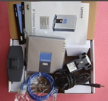High quality linksys pap2 voip support G7.29 & linksys pap2t Internet phone adapter free shipping(China)