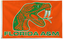 Florida A&M Flag 150X90CM NCAA 3X5FT Banner 100D Polyester grommets custom009, free shipping(China)