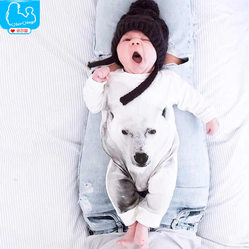 Baby Romper Autumn Cotton Baby Boy Clothes Long Sleeve Polar Bear One Pieces Baby Jumpsuit Newborn Costume Infant Baby Ropa Bebe<br><br>Aliexpress