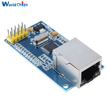 Replace W5100 Ethernet Shield LAN Network Module W5500 Support TCP/IP 51/ STM32 Microcontroller With 32k Bytes SPI 3.3V/5V(China)