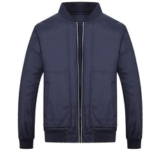 Autumn Men Jacket Korean Version Of The Collar Open Chest Zipper Jacket The Latest Fashion Trends Jacket