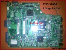 5745 5745G non-integrated motherboard for Acer 5745 5745G DA0ZR7MB8D0 100% Tested Perfect Working(China)