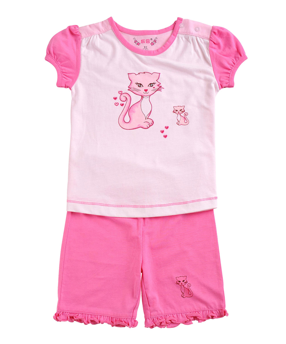 LeJin Baby Girls Clothing Set Baby Girl Wear Short Sleeves Shorts Infant Summer Casual Wear in 100% Cotton<br><br>Aliexpress