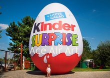 free fans 3m height  giant inflatable easter eggs for festival decoration