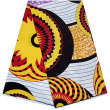 Very Beautiful African Super Wax Fabric african printed fabric Holland wax for sewing fabric 6yards/pcs B10-91016