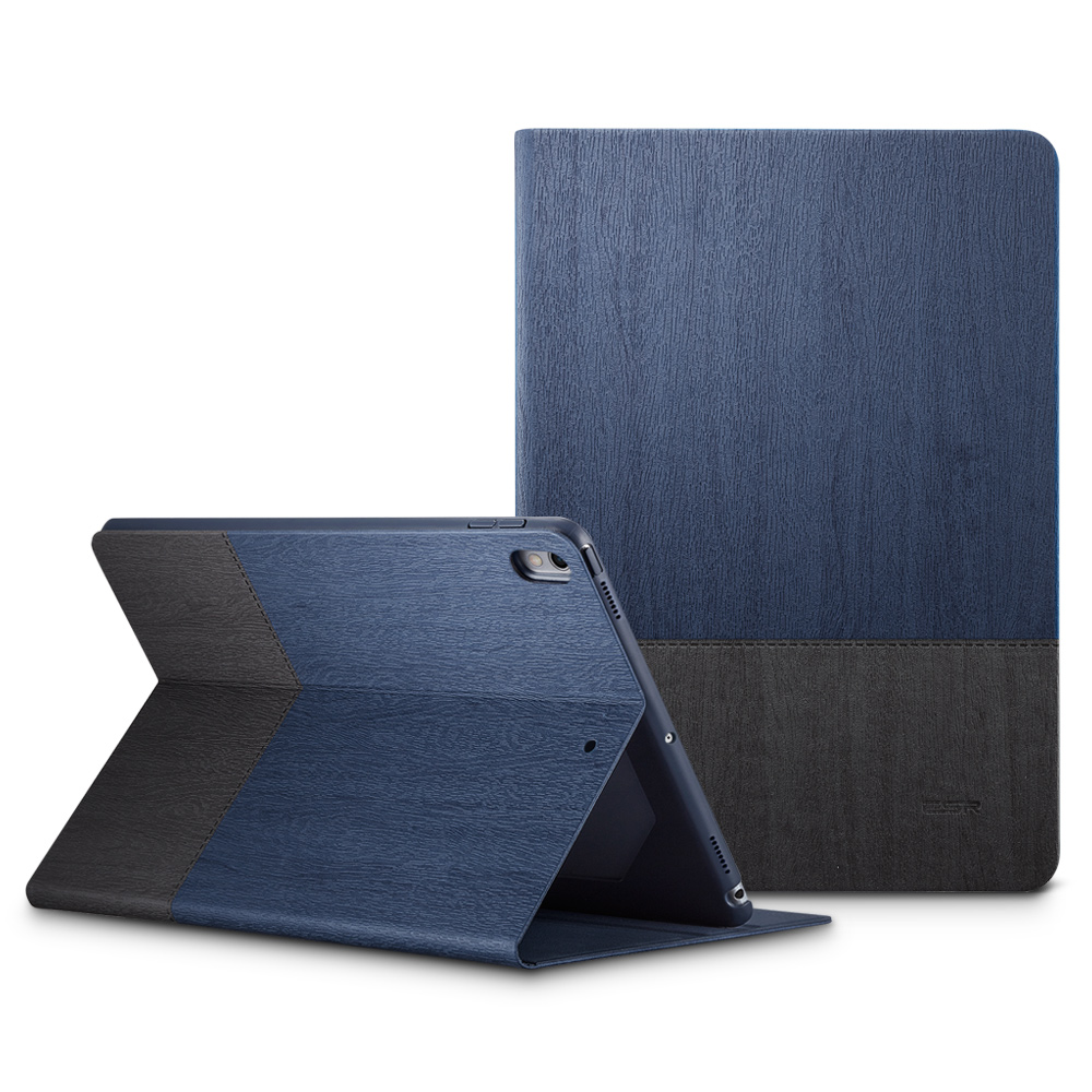 Case for iPad Pro 10.5 ESR Simplicity Oxford Cloth PU Leather Smart Cover Folio Stand Casual Style Case for iPad Pro 10.5″