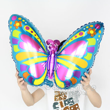 10pcs/lot new arrival colorful Butterfly balloon animal foil ballons for birthday/wedding party decor kid helium mylar globos