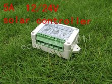 Solar Controller Regulator 5A 12V/24V Charge Battery Safe Protection CE Certify 5A solar charge controller#(China)