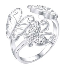 Fashion Jewelry Rings New Hot Silver Wedding Gifts Wholesale rings WAR205