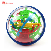colorful high quality 100 Steps Puzzle Small Educational Magic Intellect ball Marble Game perplexus magnetic balls for children