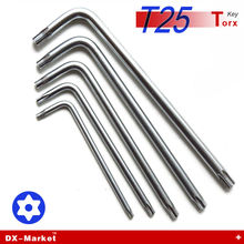 T25 torx , 10pcs , Lengthened handle torx wrench , alloy steel DIY wrench tool , Auto parts tools Manufactuer(China)