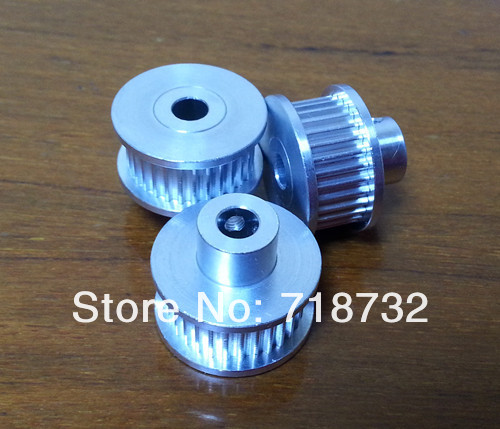 20-GT3-6 6.35mm bore timing pulleys 6pcs and open timing belt 10m length<br>