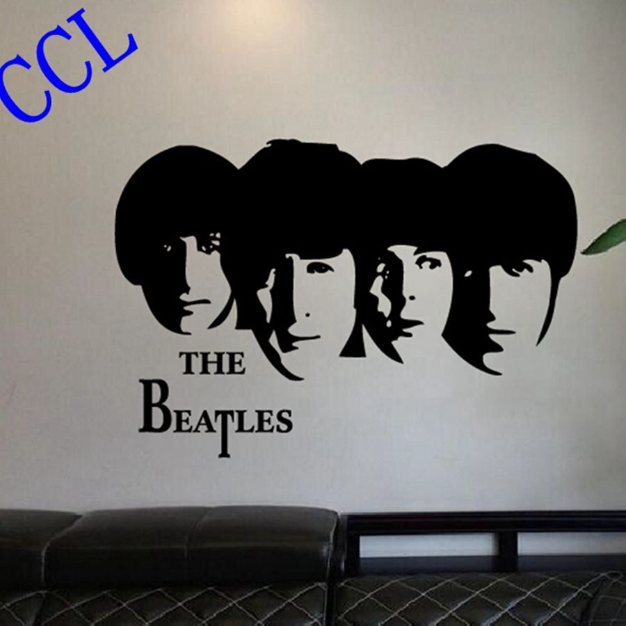 The beatles wall decal high def pictures