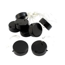 EDT-8Pcs Black Wire Lead 2x3V CR2032 Coin Cell Button Battery Holder Case(China)