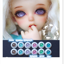 16 mm Round Acrylic Doll Eyes Eyeballs 10 Pairs/Lot,6 Color Plastic Doll Eyes for BJD Doll,Fashion Doll Accessories Good Quality
