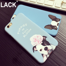 LACK Lovely Cartoon Pocket Dogs Phone Cases For Iphone 6 Case For Apple iphone 6S 6 Plus 6SPlus Animal dog Pattern Cover(China)