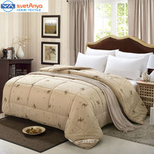 Svetanya brief quilting winter Comforter 100% camel hair filler cotton linens 150x200cm/200x230cm/220x240cm Blanket Quilt(China)
