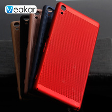 Buy Mesh heat dissipation 6.0For Sony Xperia XA Ultra Case Sony Xperia C6 F3212 F3216 F3211 Cell Phone Back Cover Case for $1.61 in AliExpress store