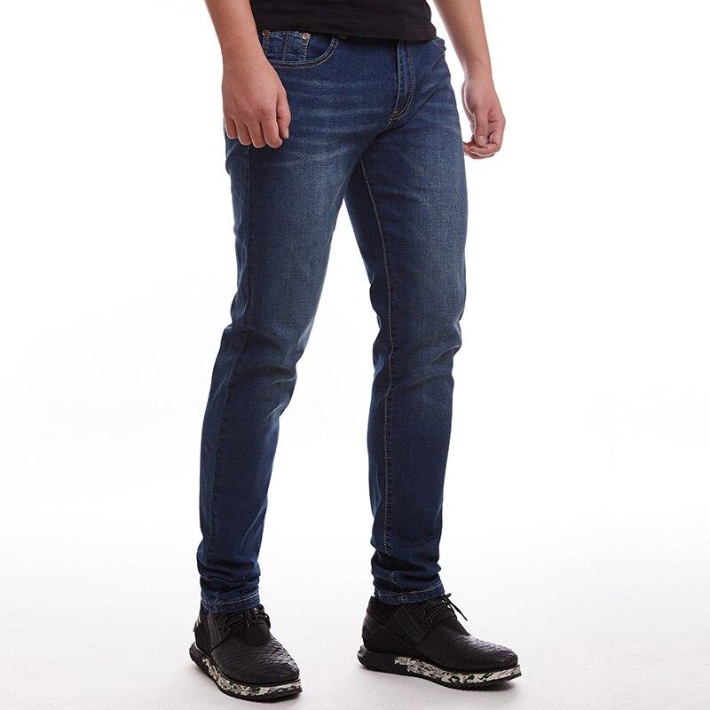 2017 Design Mens Summer Denim Jeans Plus Size Pants Dark Blue Hight Quality Stretched Trousers Big Large Size 40 42 44 46 48Одежда и ак�е��уары<br><br><br>Aliexpress