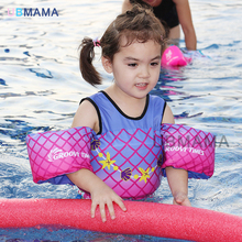 Baby swimming vest jackets swimming armbands foam vests children arm rings EVA free inflatable Swim Vest kids safety vest(China)