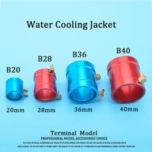 CNC Aluminum Marine Motor Water Cooling Jacket for B20/B28/B36/B40 ID 20mm/28mm/36mm/40mm RC Boat Brushless Motor
