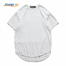 Covrlge Brand Man's T-shirt Summer New Europe and United States Style Men Solid Tshirt Cotton O-neck Male Tee Shirt Tops MTS397