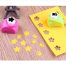 Mini Scrapbook Punches Handmade Cutter Card Craft Calico Printing Flower Paper Craft Punch Hole Puncher Shape DIY Tool(China)